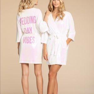 Hayley Paige wedding day robe